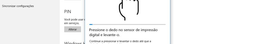 Biometria no Windows 10