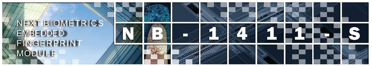 Módulo Biométrico NB 1411-S
