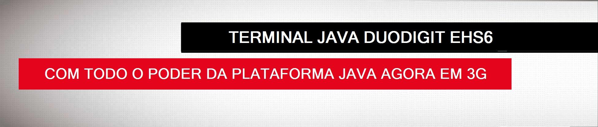 Destaque Terminal Duodigit Java EHS6
